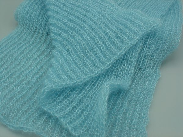 Langer Schal aus 50g Lace